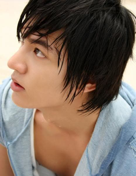 hot new boy haircuts lee min hoo eastasialicious