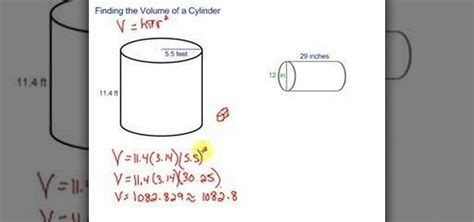How To Find You How To Find The Volume Of A Cylinder Quickly 171 Math