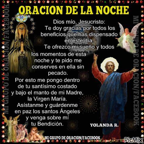 oraciones para la noche para rezar con los hijos oracion de la noche picmix