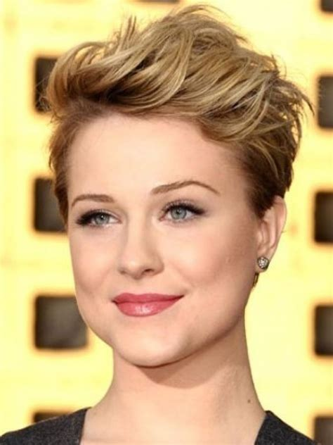 fat face pixie cut best short hairstyles for round faces short pixie thin