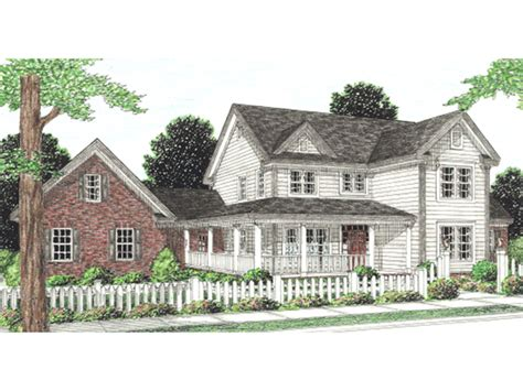 l shaped house with porch drew country home plan 130d 0141 house plans and more