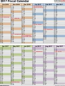 Fiscal Calendar Template by Printable Fiscal Calendar Calendar Template 2016
