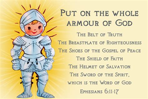 free printable christian message cards armour of god