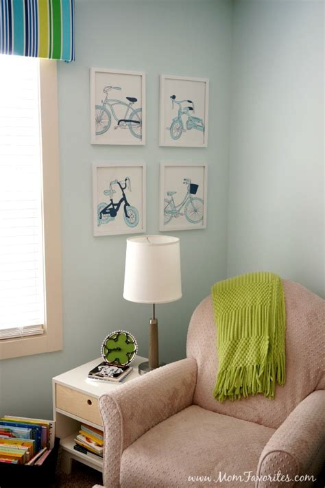 bicycle themed home decor bicycle themed nursery reveal mom favorites