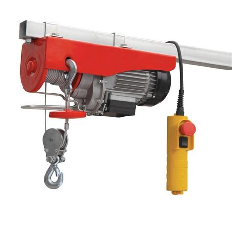 Electric Hoist Garage by Hilka 500kg Capacity Lifting Hoist Garage Workshop
