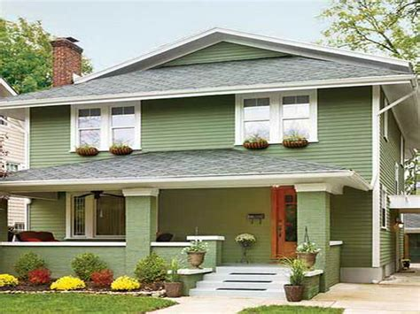 best green exterior paint colors