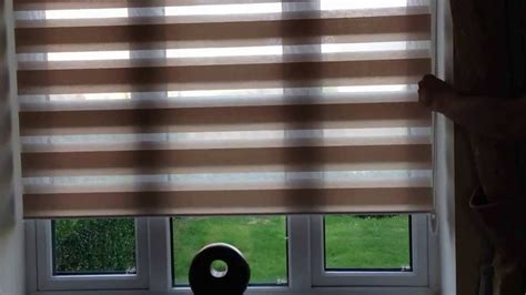 How To Fit A Roman Blind Day And Night Roller Blind Youtube