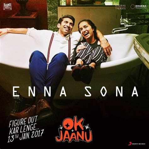 film zasne ená romance watch enna sona hd video song from ok jaanu aditya roy
