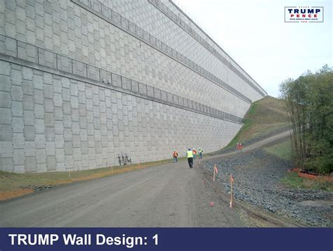 donald releases border wall designs beautiful