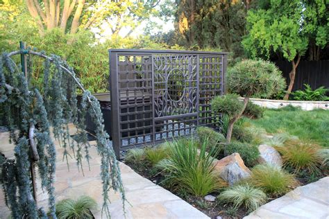 Asian Inspired Backyard   Michael Glassman & Associates