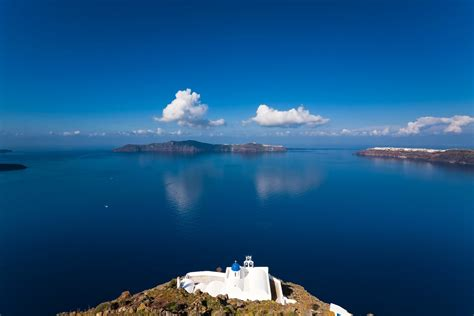 Light Wall Colors by Greece Sifnos Island Sea Church Islands Sky Clouds Hd