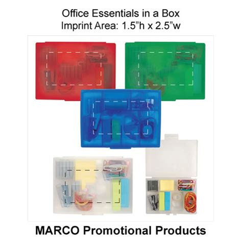 Box Office Essentials promotional office essentials in a box item of 15039