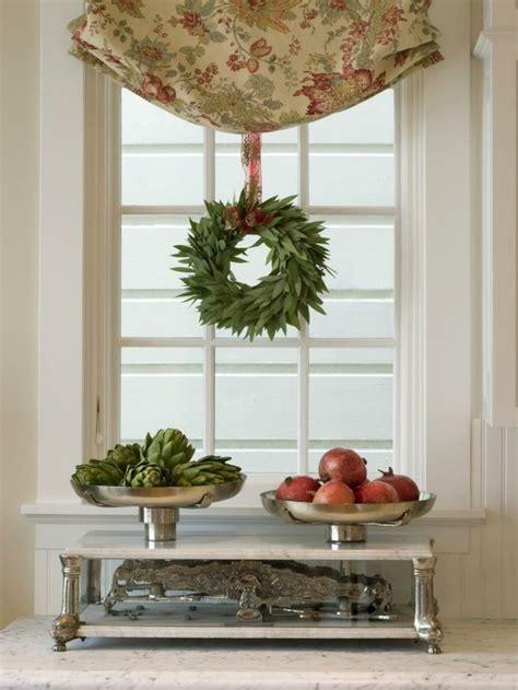 Fensterdeko Weihnachten Kranz by Fensterdeko Zu Weihnachten 104 Neue Ideen Archzine Net