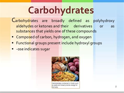 carbohydrates names carbohydrates
