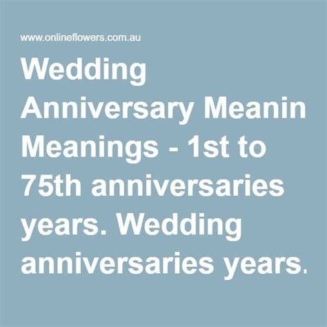 75th wedding anniversary symbol best 25 6th wedding anniversary ideas on pinterest 6th