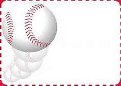 Printable Baseball Bat Border Use The Border In Microsoft Word Or Other Programs For Creating Baseball Birthday Invitation Templates Free
