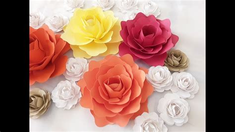 How To Make A Small Paper Flower - diy small paper flower tutorial