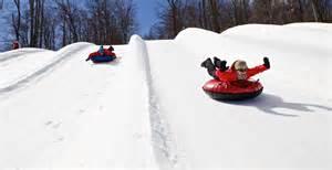 Snow Tubbing tubing park mont ripley ski area