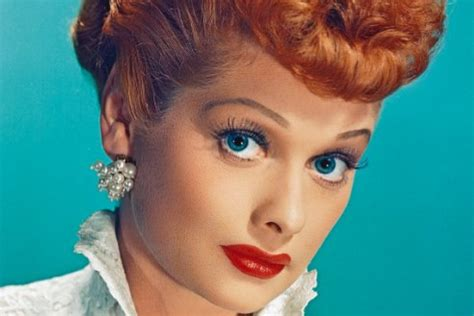 lucy ball lucille ball s retro beauty look is no laughing matter