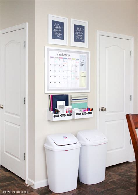 multi functional and cute command center the inspired room command center inspiration to finally get organized