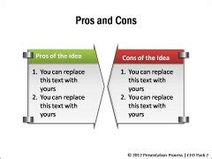 Powerpoint Comparison Template Pros And Cons List Template Excel