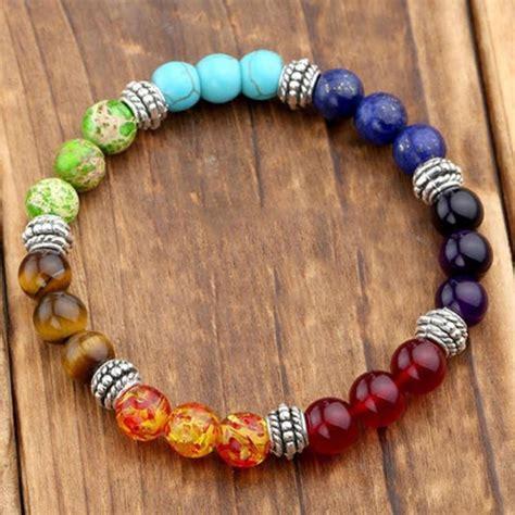 Bracelet réharmonise et équilibre vos 7 chakras