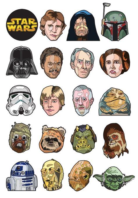 imagenes minimalistas de star wars im 225 genes de personajes star wars im 225 genes para peques