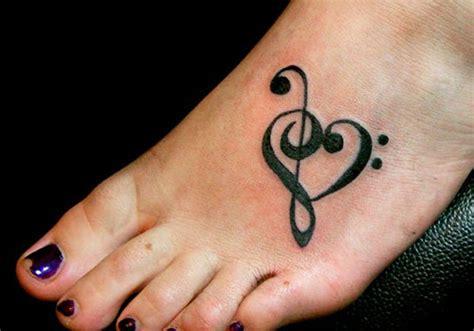treble clef heart tattoo designs 21 amazing symbol tattoos
