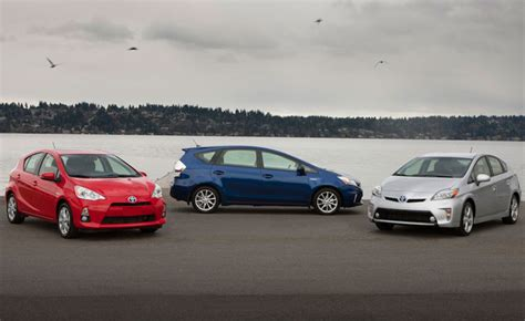 When Was Toyota Created Prius Family Which One Is Right For Me