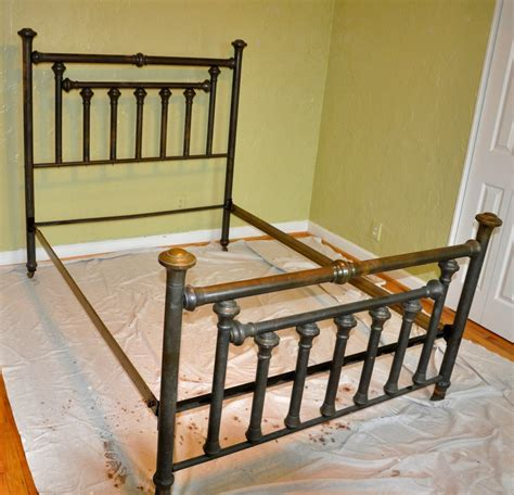antique bed frames antique metal bed frame value