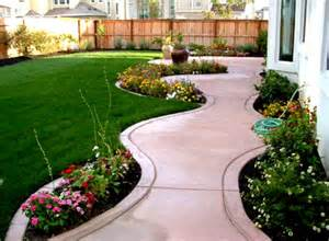 landscaping ideas for cool front yard home landscaping with green grass and
