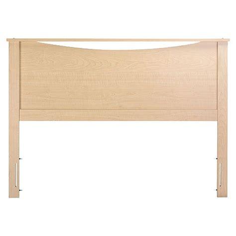 maple headboard full full queen size headboard in natural maple finish