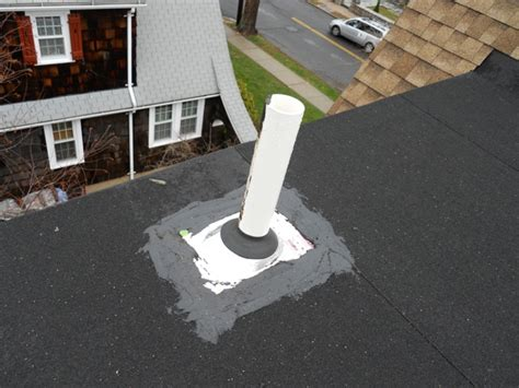 Plumbing Vent Through Roof by The Plumber Should Be Given The Boot