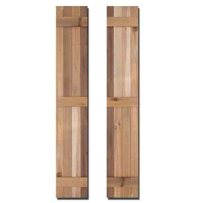 Exterior Doors Baton by Design Craft Millworks Exterior Shutters The Home Depot