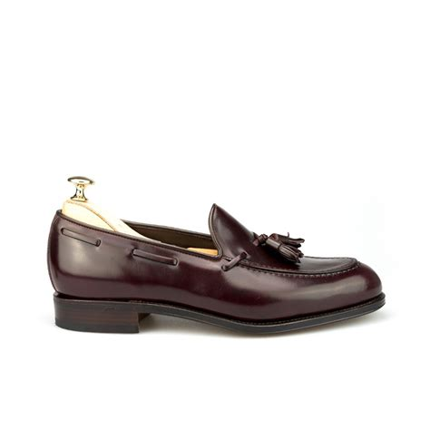 tassel loafers in cordovan loafers