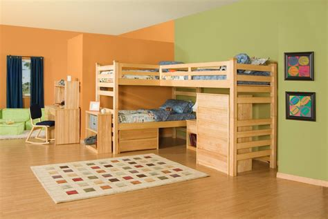 Three Bunk Bed Design Room Ideas 2