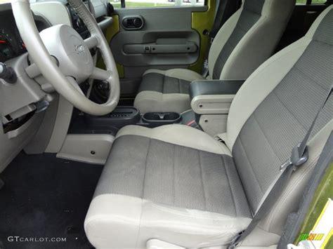 2007 Jeep Wrangler X Interior by 2007 Jeep Wrangler Unlimited X Interior Photos Gtcarlot