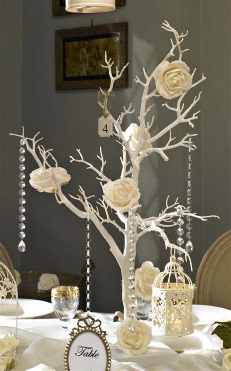 wishing tree wedding decoration twig table decoration