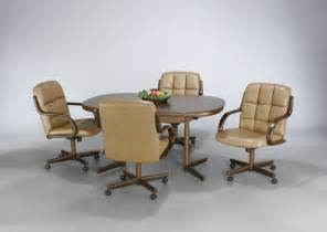dining room chairs with rollers kitchen chairs kitchen chairs on casters