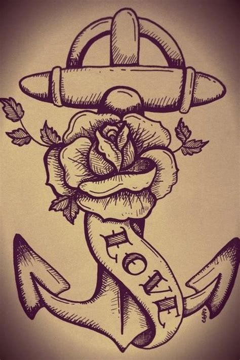rose and anchor tattoo anchor future tattoos anchors