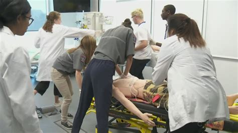 nursing school montreal high achieving students get at chum day