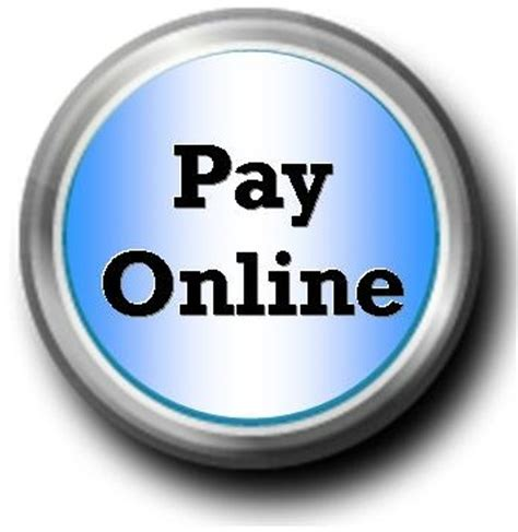 online payment button sample town of fortville
