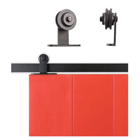 Sliding Cabinet Barn Door Hardware Kit Top Mount Roller 6 Top Mount Sliding Barn Door Hardware
