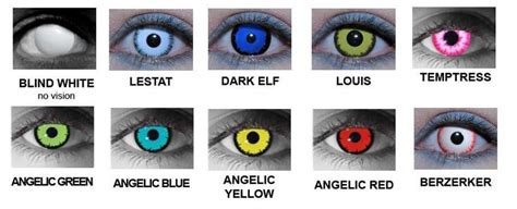 Spooky Trend Colored Contacts by Contacts Lenses S 246 K P 229 Contact Lenses