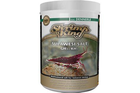 Dennerle Shrimp King Sulawesi Salt Ghkh dennerle shrimp king sulawesi salt gh kh 1000 gramm wasserpflege mineral h 228 rtesalze