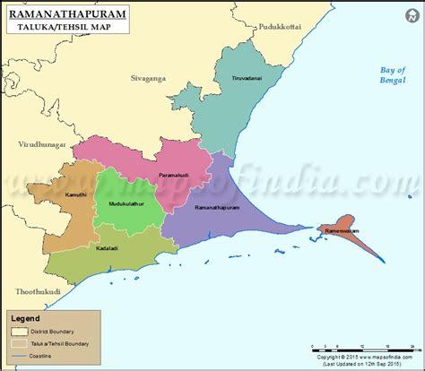 Garden Art Crafts - ramanathapuram tehsil map ramanathapuram taluk map