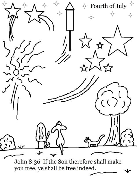 coloring pages sunday school lessons church house collection fourth of july sunday school