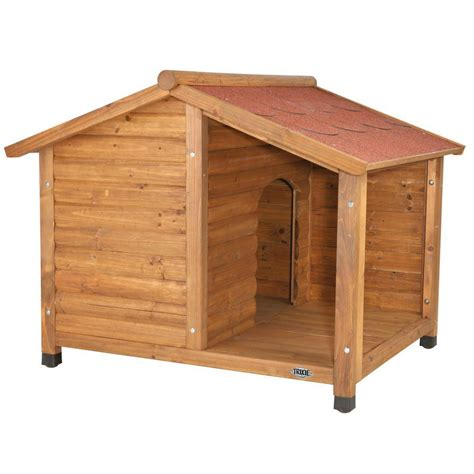 medium house dogs trixie rustic medium dog house 39511 the home depot