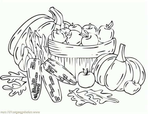 autumn harvest coloring pages fall harvest coloring pages coloring home