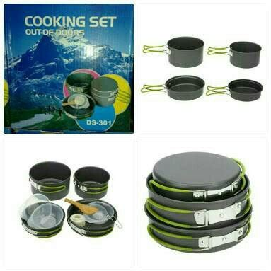 Cooing Set Ds 301j jual cooking set nesting ds 301 ultralight di lapak